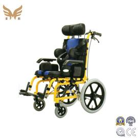 New Medical Equipment Aluminum Adapting Adjustable Reclining Manual Children Wheelchair