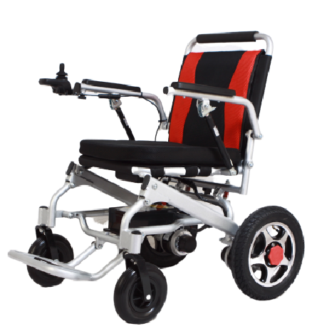 Factory Wholesale Power WC Wheelchair blue