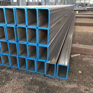 BLACK CARBON STEEL WELDED SQUARE STEEL PIPE