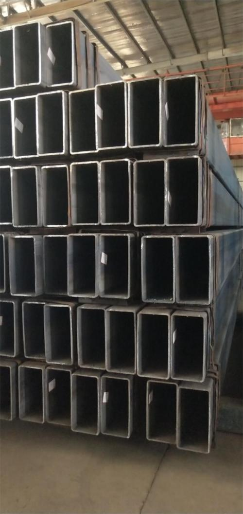 Manufacturer Rectangular Black Tube