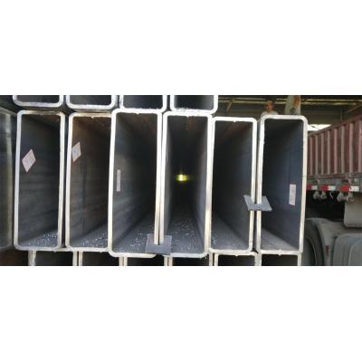 black carbon rectangular hollow section tube
