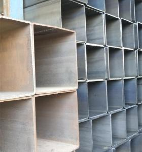 Prices Iron Pipe 12 Meter Welded Steel Pipe Erw Black Square Steel Pipe