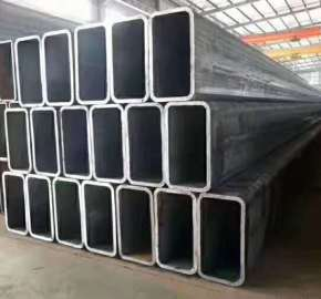 Square steel tube composite special-shaped column structure