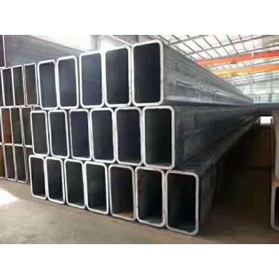 Square concrete filled steel tube composite special-shaped column structure
