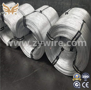 High tension hot dip galvanized 2mm  Steel Wire -Zhongyou