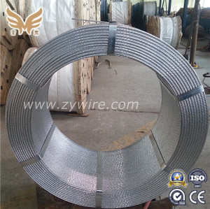 High Strength Galvanized Steel Guy Wire Strand -Zhongyou