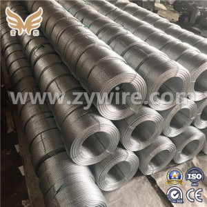 Galvanized Strand used as guys span wires  -Zhongyou