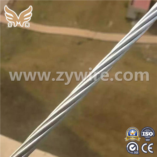 ASTM A475 Galvanized Steel Wire Strand 7/32 Inch (3/2.64mm)   -Zhongyou