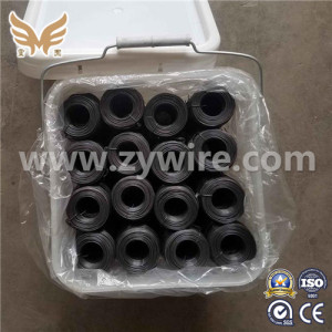 Best Quality black annealed  wire binding material wire gauge 18-Zhongyou