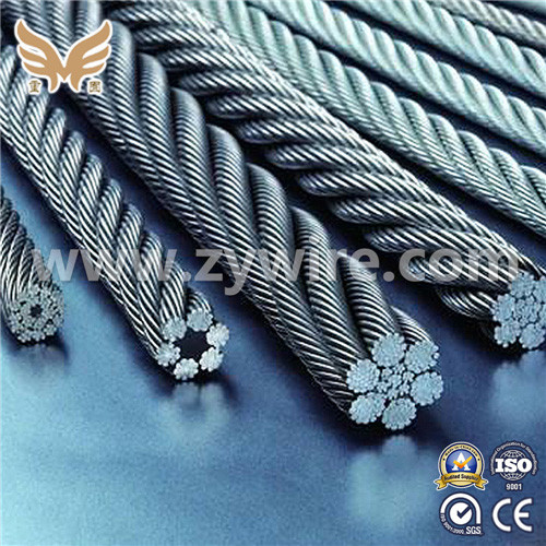 Steel Wire Rope for Elevator Safety Rope Cableway Steel-Zhongyou