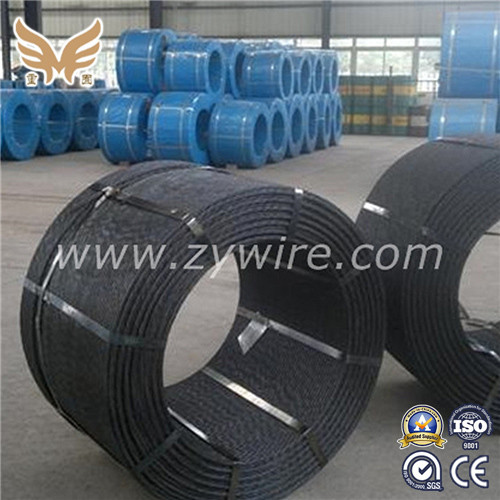 ASTM 12.7mm PC Steel Strand from China manufacture-Zhongyou