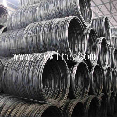 6.5mm cold drawing steel wire rod for nails steel wire coil-Zhongyou