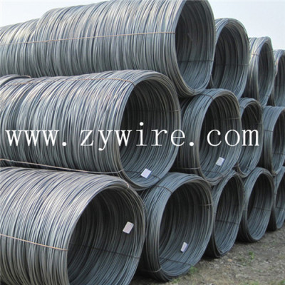 China 5.5mm steel wire rod for construction -Zhongyou