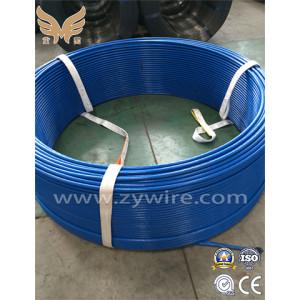 Unbonded prestressed concrete steel strand