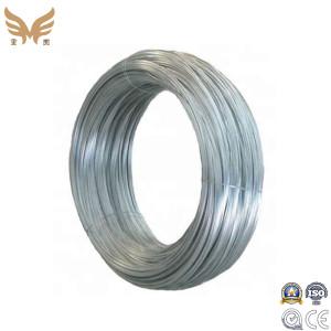 Zinc Coating Galvanized Iron wire with Spool-Zhongyou