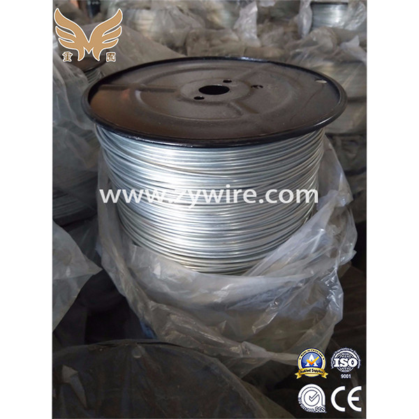 China factory galvanized steel wire GI wire -Zhongyou