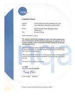 CONFORMITE EUROPEENNE Certificate