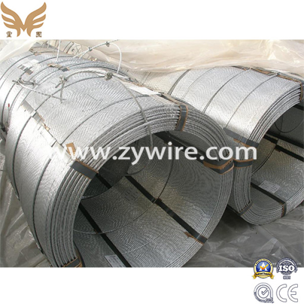 High Quality Galvanized Steel Strand