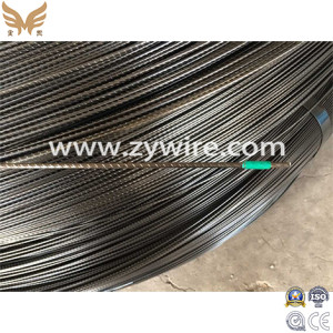 High tension prestressed wire 7mm pc  wire  steel-Zhongyou
