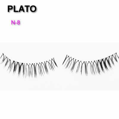 Poloshed Tip Eyelashes  wholesale mink private label eyelashes cashmere flat double tips soft false eyelashes
