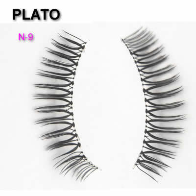 Poloshed Tip Eyelashes  wholesale mink private label eyelashes cashmere flat double tips soft false eyelashes