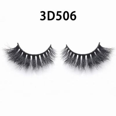 3D Real Mink Eyelashes 3D506