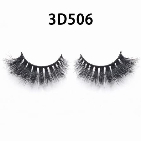 wholesale 100% real siberian mink fur mink eyelashes 3d mink lashes With Custom Lash Book