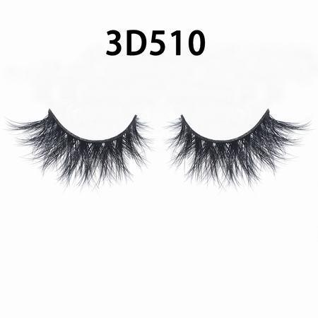 Natural Strip 100% real 25mm 3D mink eyelashes