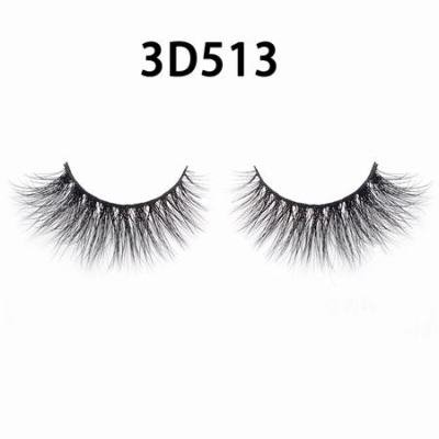 3D Real Mink Eyelashes 3D513