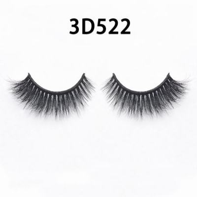 3D Real Mink Eyelashes 3D522