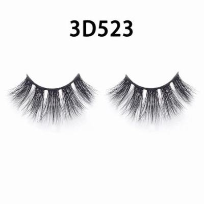 3D Real Mink Eyelashes 3D523