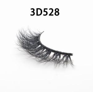 Natural Strip 100% real 25mm 3D mink eyelashes