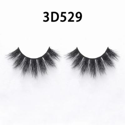 3D Real Mink Eyelashes 3D529