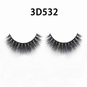 wholesale 100% real siberian mink fur mink eyelashes 3d mink lashes