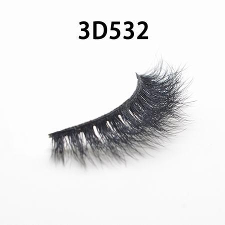 wholesale 100% real siberian mink fur mink eyelashes 3d mink lashes