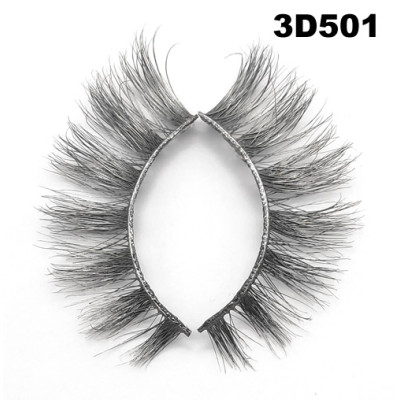 Colored Mink Eyelashes 3D501