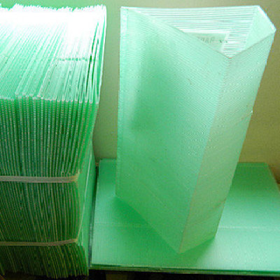 plant corrugated plastic protection guards