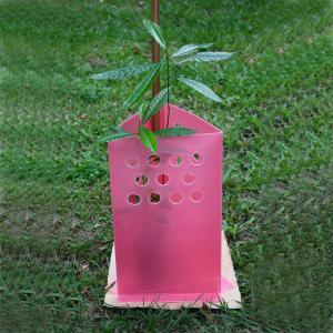Outdoor use UV resistance PP corflute tree shelters