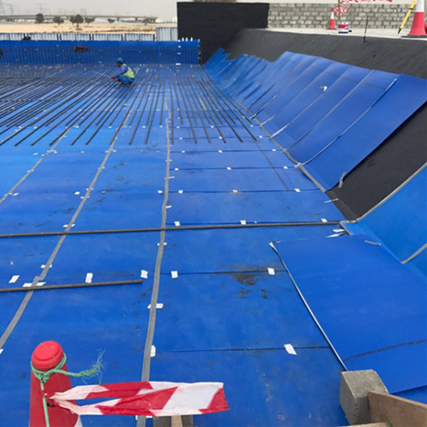 2mm 3mm 4mm 5mm blue color PP Plastic danpla sheet for construction protection