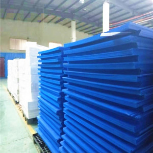 2mm 3mm 4mm 5mm blue color PP Plastic danpla sheet for construction protection