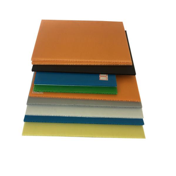 Corflute plastic correx sheet / coroplast sheet / pp corrugated sheet