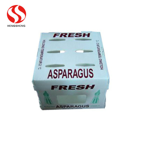Corrugated Polypropylene pp coroplast boxes for okra and grapes