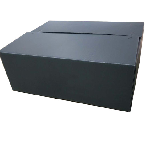 Corrugated storage plastic packing boxes for fruit and vegetable