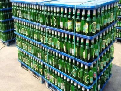 Cheap price durable pp plastic layer pad  bottle pallet