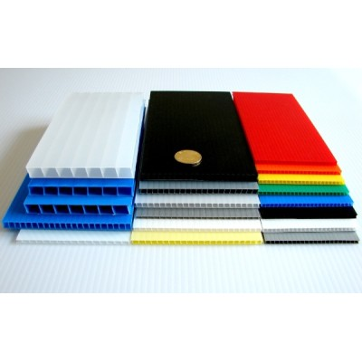 corflute sheet 4x8 pp corrugated plastic sheet