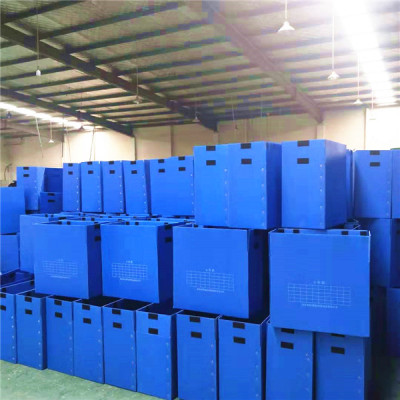 Foldable PP hollow box plastic crates polypropylene corrugated packaging box
