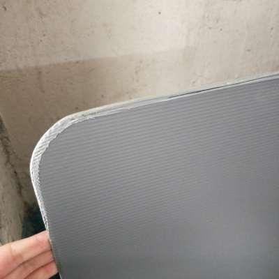 PP plastic divider sheet with round corner seal edge for bottle divider
