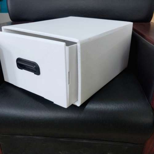 Folding plastic corrugated pp hollow tool storage packaging box