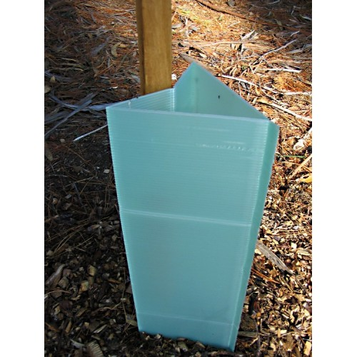 Corflute tree guards/ young tree shelter with UV resistance