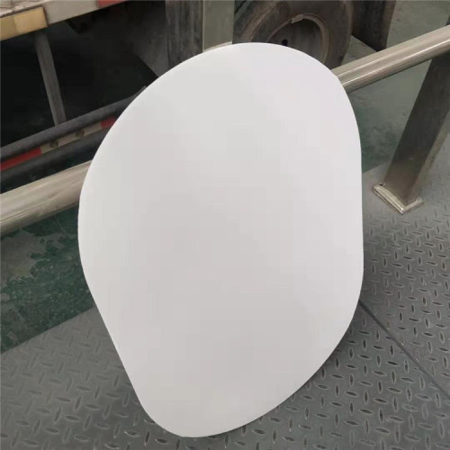 PP Plastic S hole corflute sheet with die cut